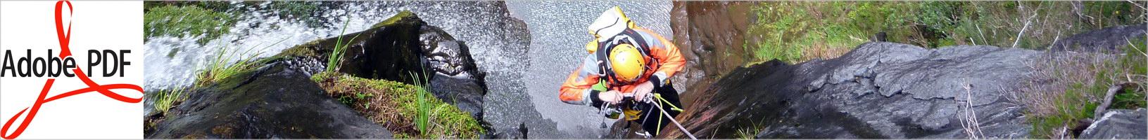 Artículo descenso de barrancos en Madeira (PT) | Revista Subterránea 22