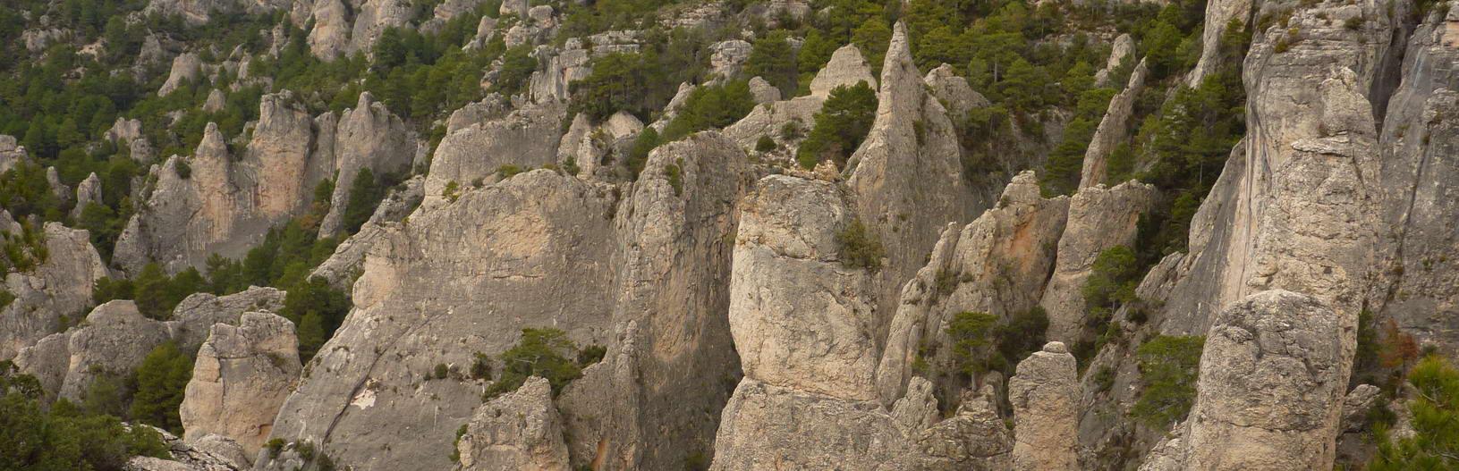 Agujas en la zona del Parrisal | Travesía Estels del Sud