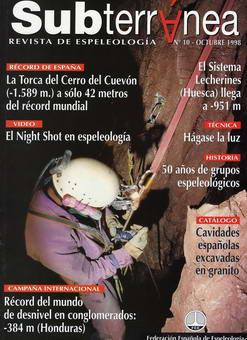 Artículo revista Subterránea 10 | La Torca del Cerro