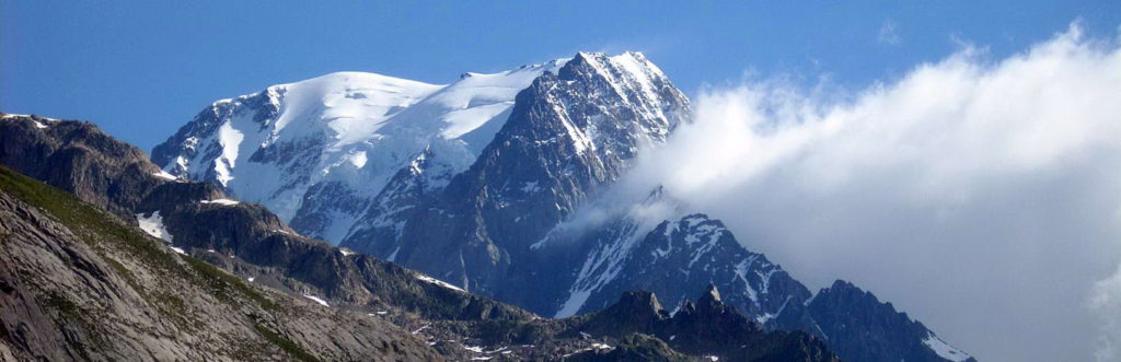 Vistas del macizo del Mont Blanc | TMB