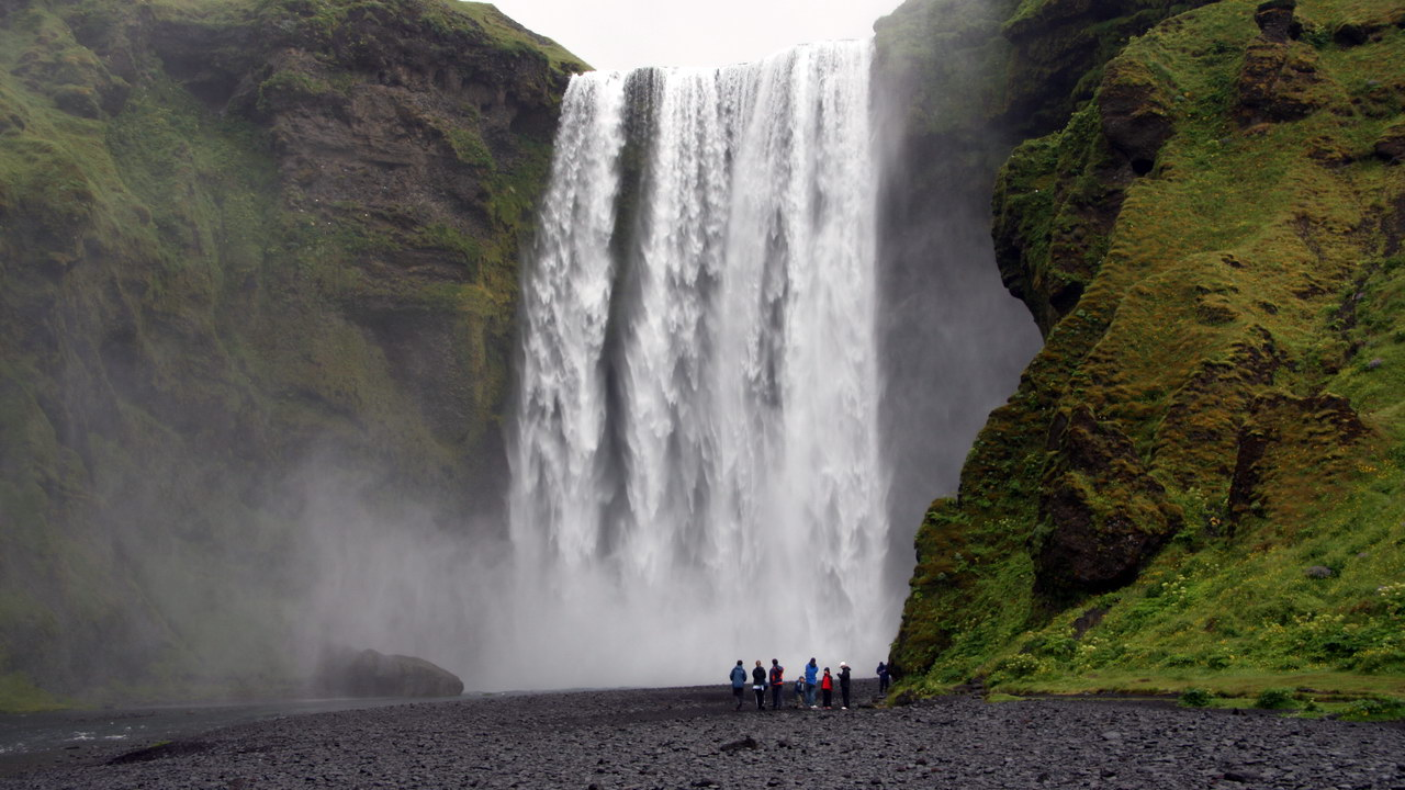 Skógafoss | Barrancos en Islandia (IS)